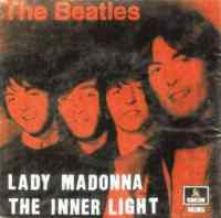 Lady Madonna single artwork - Brazil