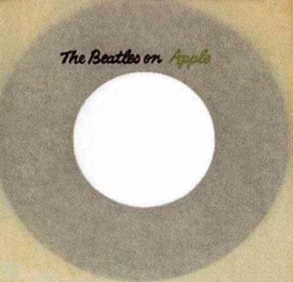 Apple single sleeve, 1968-70 - Canada