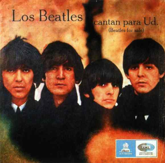 Los Beatles Cantan Para Usted (Beatles For Sale) album artwork - Chile
