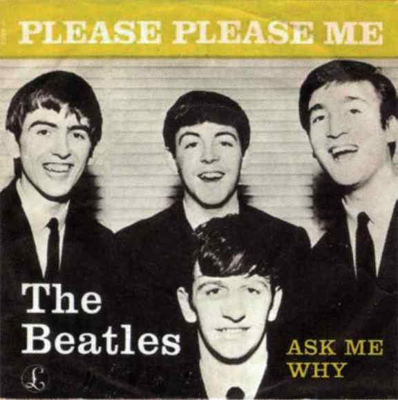Please Please Me single artwork - Denmark, Norway