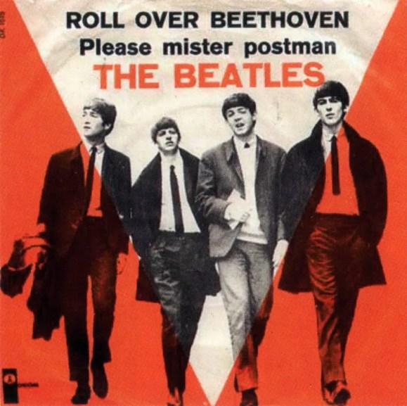 Roll Over Beethoven single artwork - Denmark