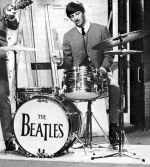 The Beatles' Drop-T logo, number one