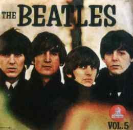 The Beatles Vol. 5 album artwork - Ecuador