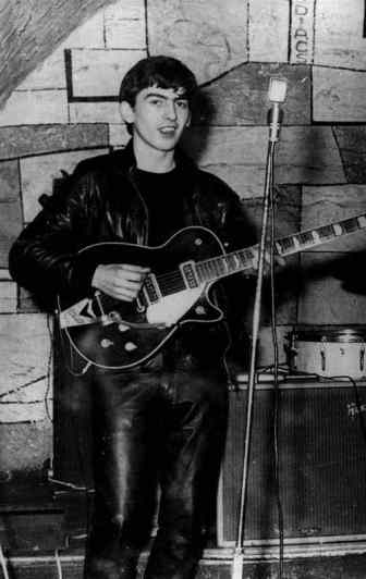 George Harrison in the Cavern Club, Liverpool