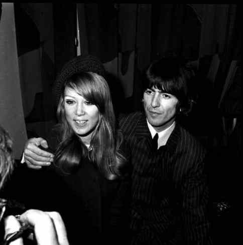 George and Pattie Harrison