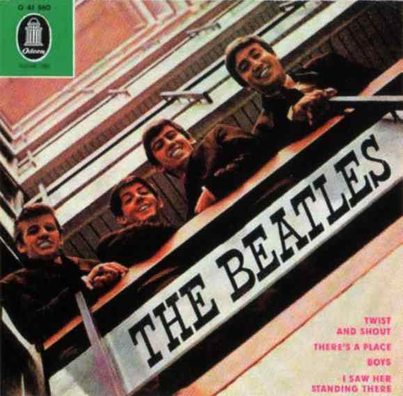 The Beatles EP artwork - Germany
