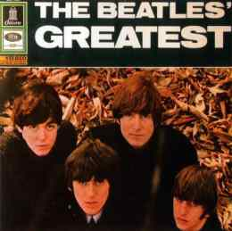 The Beatles' Greatest album artwork - Germany, Netherlands