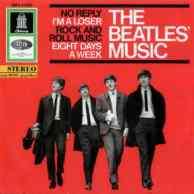 The Beatles' Music EP artwork - Germany