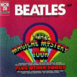 Magical Mystery Tour album artwork - Germany