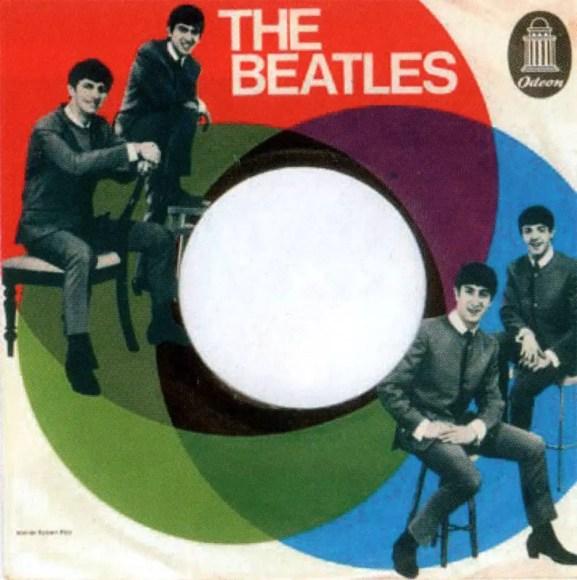 Beatles single sleeve - Germany
