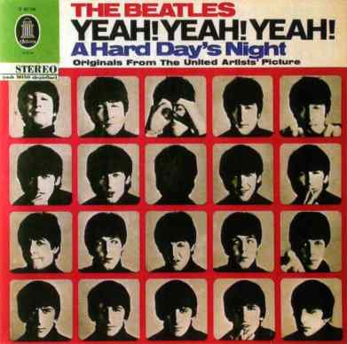 Yeah! Yeah! Yeah! A Hard Day's Night album artwork - Germany