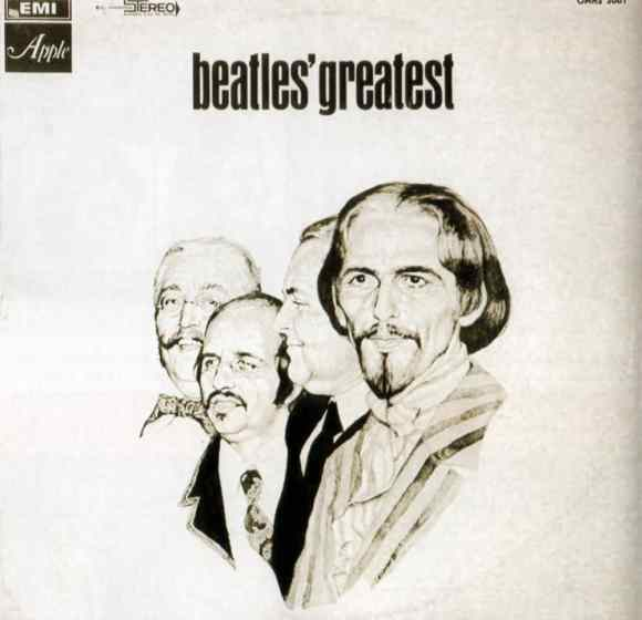 The Beatles' Greatest album artwork - Israel