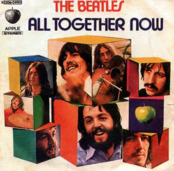 All Together Now single artwork - Italy