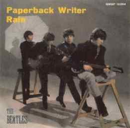 Paperback Writer single artwork - Italy