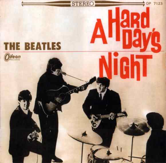 A Hard Day's Night album artwork - Japan