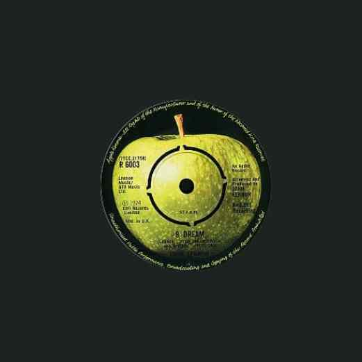 #9 Dream single - John Lennon