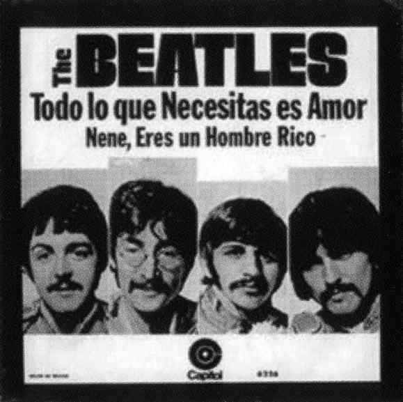 All You Need Is Love single artwork - Mexico
