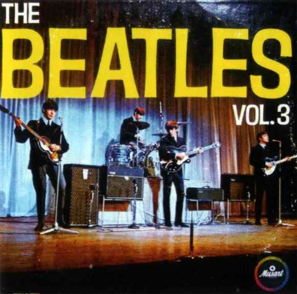The Beatles Vol. 3 album artwork - Mexico