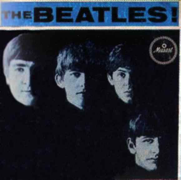 The Beatles! EP artwork - Mexico