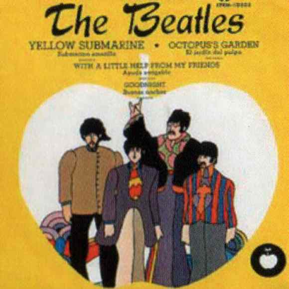 Yellow Submarine EP artwork - Mexico