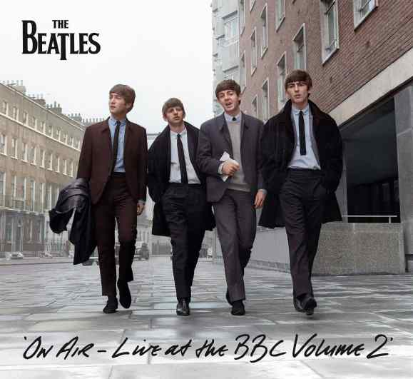 The Beatles: On Air - Live At The BBC Volume 2 cover artwork