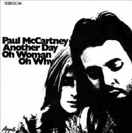 Paul McCartney: Another Day single artwork