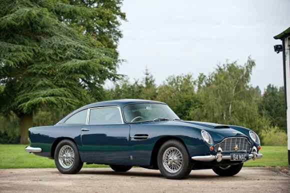 Paul McCartney's 1964 Aston Martin DB5