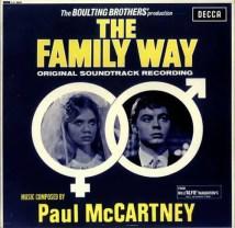 The Family Way album artwork - Paul McCartney