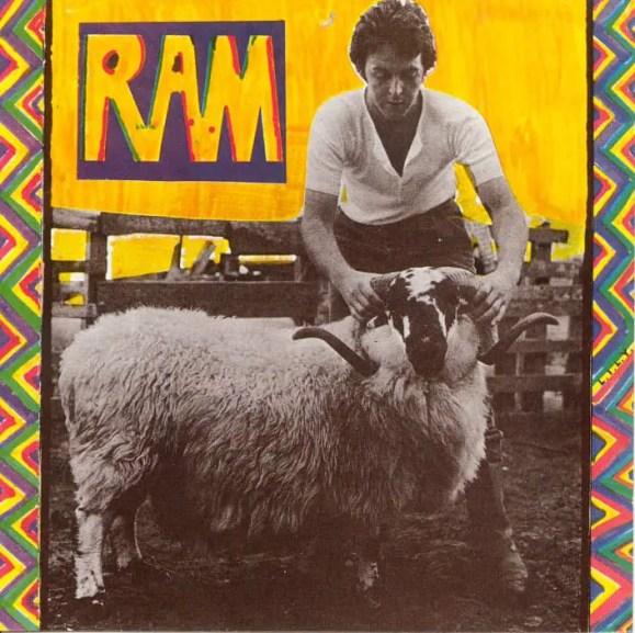 Ram album artwork - Paul and Linda McCartney