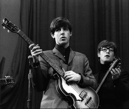 Paul McCartney and John Lennon, 1963