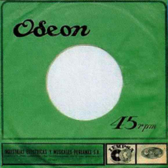 Odeon single sleeve, 1967-68 - Peru