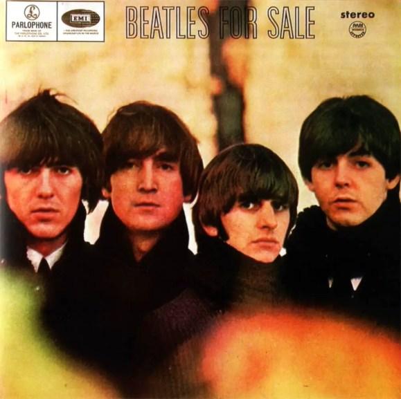Beatles For Sale album artwork - Philippines