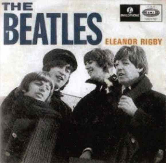 Eleanor Rigby EP artwork - Portugal
