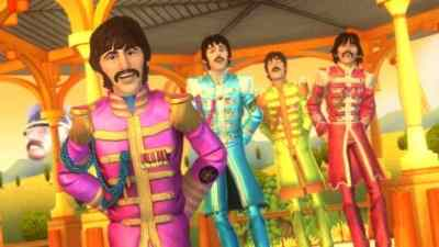 Sgt Pepper scene from The Beatles: Rock Band