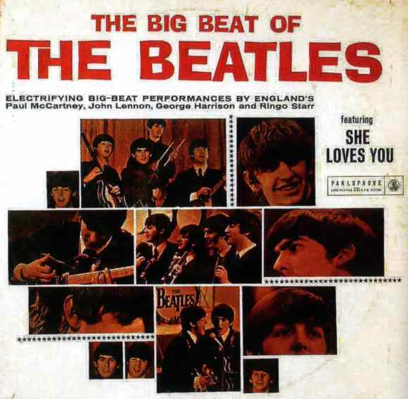 The Big Beat Of The Beatles album artwork - South Africa