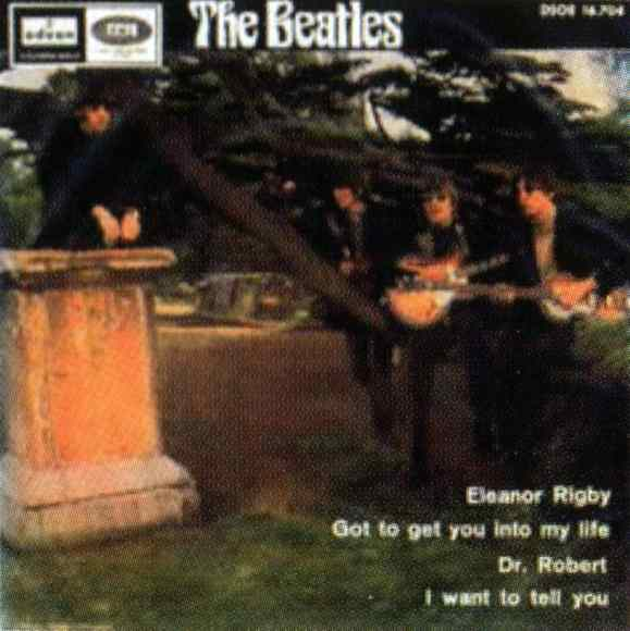Eleanor Rigby EP artwork - Spain