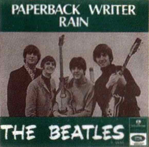 Paperback Writer single artwork - Sweden