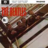Beatles No. 1 EP artwork - United Kingdom