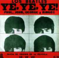 Ye, Ye, Ye! Paul, John, George y Ringo! (A Hard Day's Night) album artwork - Uruguay