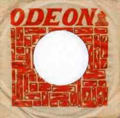 Odeon single sleeve, 1965-66 - Uruguay