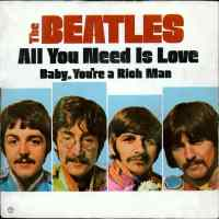 All You Need Is Love single artwork - USA