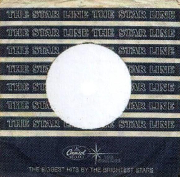 Capitol/Starline single sleeve, 1964-65 - USA