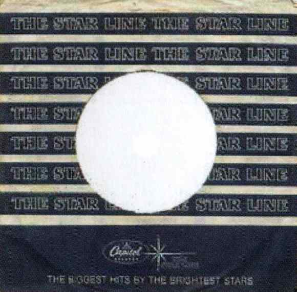 Capitol/Starline single sleeve, 1964-65 - USA