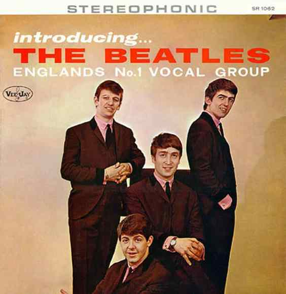 Introducing The Beatles album artwork - USA