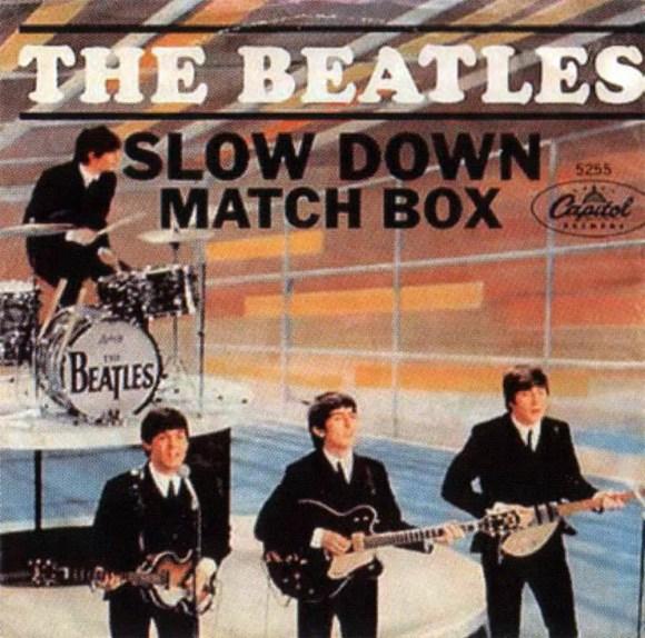 Slow Down single artwork - USA