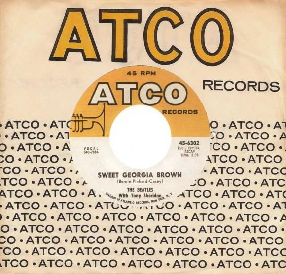 Sweet Georgia Brown single artwork - USA