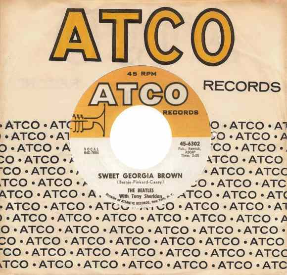 Sweet Georgia Brown single artwork - USA