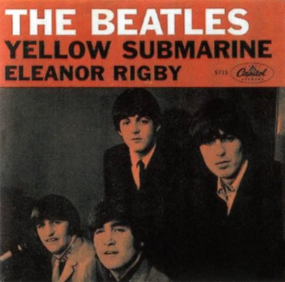 Yellow Submarine single artwork - USA