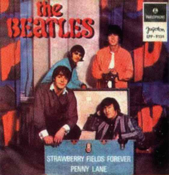 Strawberry Fields Forever EP - Yugoslavia