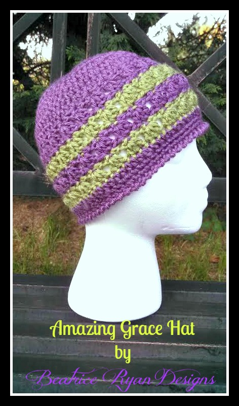 Amazing Grace Hat ~ Free Pattern